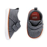 Baby Boy Carter's Denim Sneaker Crib Shoes