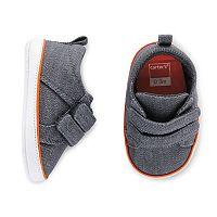 Baby Boy Carter's Denim Sneaker Crib Shoes