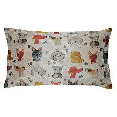 Spencer Home Decor First in Show Jacquard Oblong Throw Pillow