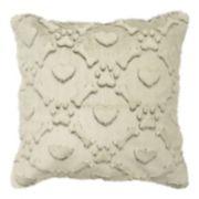 Spencer Home Decor Max Faux Fur Throw Pillow