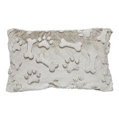 Spencer Home Decor Maximus Faux Fur Oblong Throw Pillow