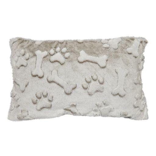 Spencer Home Decor Maximus Faux Fur Oblong Throw Pillow