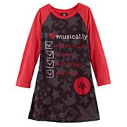 Girls 4-10 musical.ly Nightgown