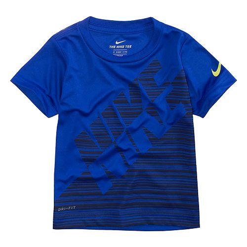 Toddler Boy Nike Dri-FIT Linear Colorblock Tee