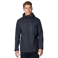 Men's CoolKeep Stretch Performance Hooded Rain Jacket