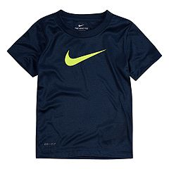 Toddler Boy Nike Dri-FIT Heathered Tee