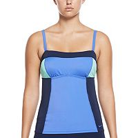 Women's Nike Color Surge Colorblock Tankini Top