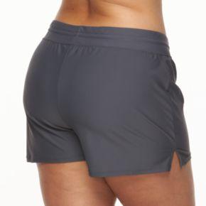 Plus Size ZeroXposur Solid Swim Shorts