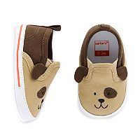 Baby Boy Carter's Puppy Slip On Crib Shoes