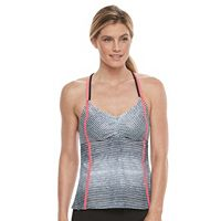 Women's adidas Get Striped Tankini Top