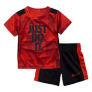 "Toddler Boy Nike ""Just Do It"" Tee & Shorts Set"