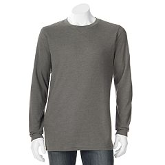 Big & Tall Hanes Ultimate X-Temp Waffle-Weave Thermal Tee