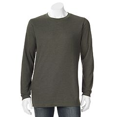 Big & Tall Hanes Ultimate X-Temp Waffle-Weave Thermal Sleep Tee