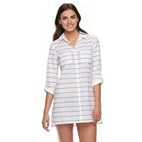 Women's Apt. 9® Roll-Tab Slubbed Cover-Up