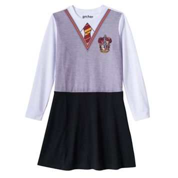 Girls 7-16 Harry Potter Hermione Dress-Up Nightgown
