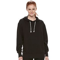 Juniors' SO® Oversized Fleece Hoodie