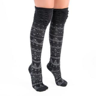 Women's MUK LUKS 3-pk. Microfiber Over-the-Knee Socks