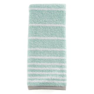 One Home Kitty Cat Stripe Hand Towel