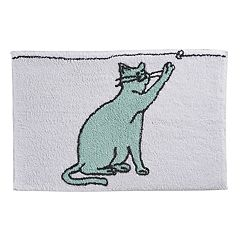 One Home Kitty Cat Bath Rug