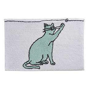 One Home Kitty Cat Bath Rug