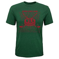 Boys 8-20 Minnesota Wild One Timer Tee