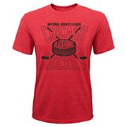 Boys 8-20 Chicago Blackhawks One Timer Tee