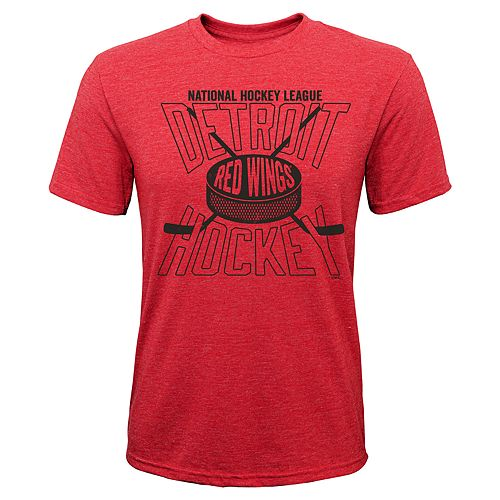 Boys 8-20 Detroit Red Wings One Timer Tee