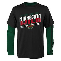 Boys 8-20 Minnesota Wild First Line Tee Set