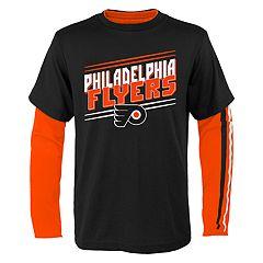 Boys 8-20 Philadelphia Flyers First Line Tee Set