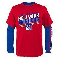 Boys 8-20 New York Rangers First Line Tee Set