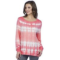 Women's PL Movement Tie-Dye Open Back Top