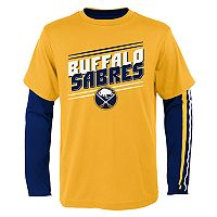 Boys 8-20 Buffalo Sabres First Line Tee Set