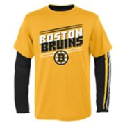 Boys 8-20 Boston Bruins First Line Tee Set