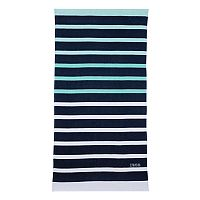 IZOD Ombre Stripe Beach Towel