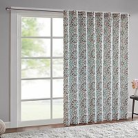 Intelligent Design Rimini Cotton Medallion Printed Patio Window Curtain