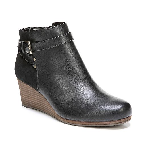 Dr. Scholl's Double Women's Wedge Ankle Boots