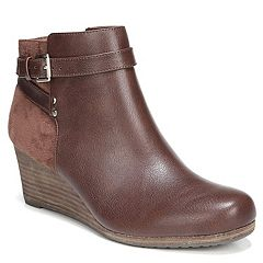 af9ffa4b739f Dr. Scholl s Double Women s Wedge Ankle Boots. Copper Brown