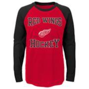 Boys 8-20 Detroit Red Wings Morning Skate Tee