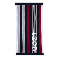 IZOD Racing Stripe Beach Towel