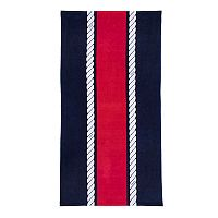 IZOD Rope Stripe Beach Towel