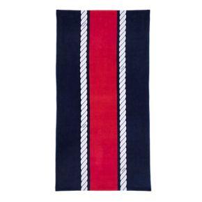 IZOD Rope Stripe Beach Towel