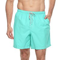 Big & Tall Croft & Barrow® Solid Swim Trunks