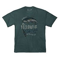 Men's Newport Blue Beverage Tee