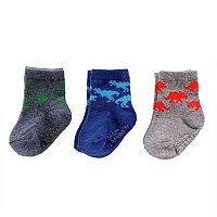 Baby Boy Carter's 3-pk. Graphic Crew Socks