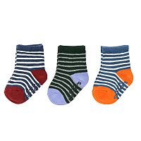 Baby / Toddler Boy Carter's 3-pk. Striped Crew Socks