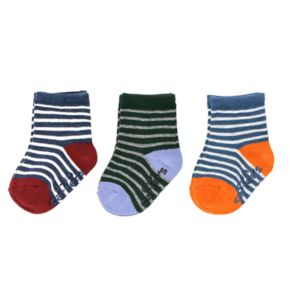 Baby / Toddler Boy Carter's 3-pk. Striped Crew Socks
