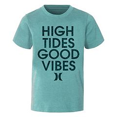 Boys 4-7 Hurley 'High Tides Good Vibes' Graphic Tee