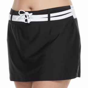 Women's Free Country Colorblock Skirtini Bottoms