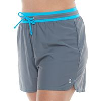 Plus Size Free Country Drawstring Swim Shorts