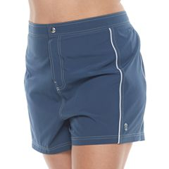 Plus Size Free Country Woven Swim Shorts
